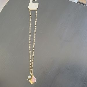 Long necklace with sea shells